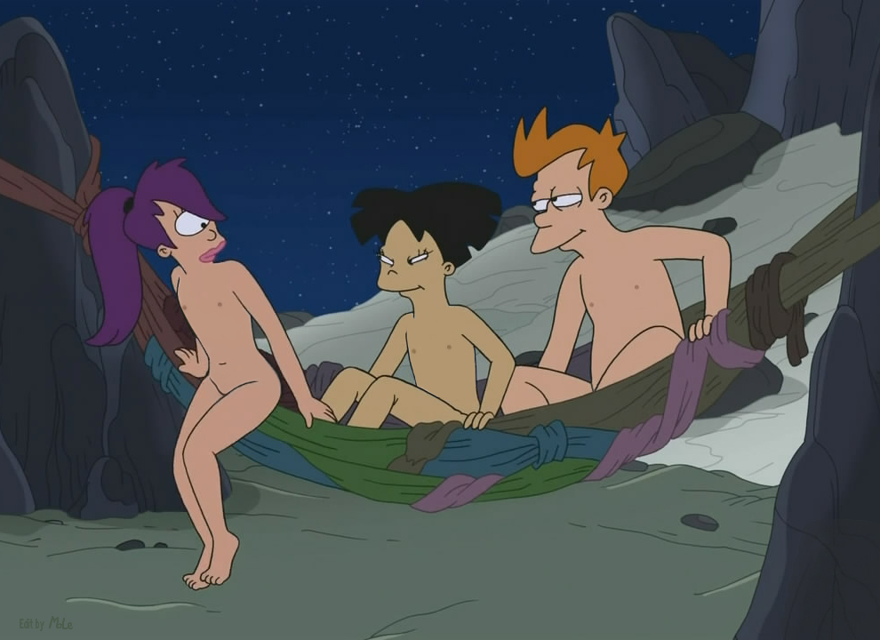 Futurama leela and amy nude right!