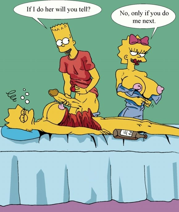 Bart And Maggie Simpson Porn