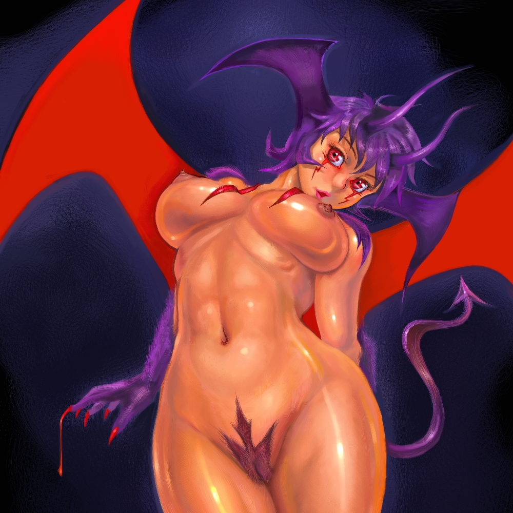 Demon With Naked Girl