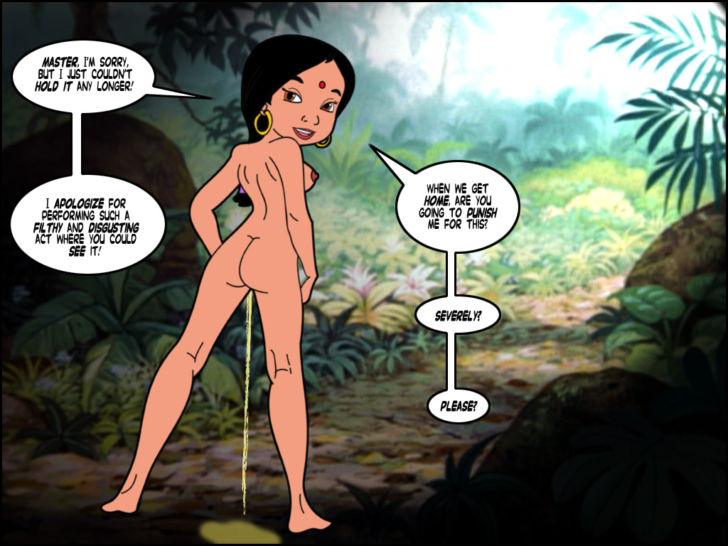 Jungle book shanti hentai